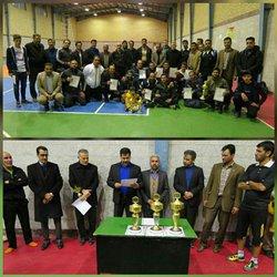 پایان  مسابقات جام فوتسال مناطق و سازمان های تابعه شهرداری یادواره ی زنده یاد حسین منصوری
