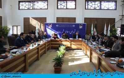 گزارش تصویری جلسه کمیسیون بودجه و حقوقی ، بررسی بودجه پیشنهادی شهرداری ساری ۱۰ بهمن ۹۷