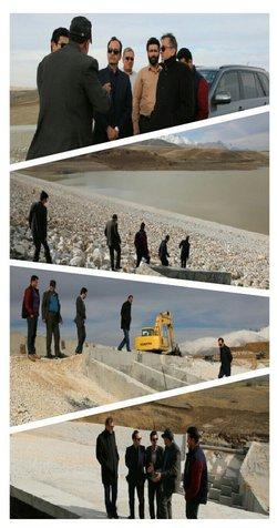 پیشرفت ۹۵ درصدی سد نعمت آباد شهرستان اسدآباد