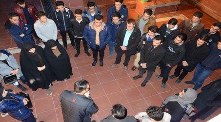 بازدید دانشجویان دانشگاه های ارومیه از تصفیه خانه های امور ارومیه
