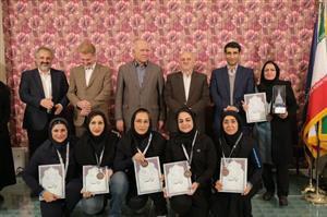 مقام سوم بانوان برق منطقه ای خوزستان در مسابقات سراسری وزارت نیرو