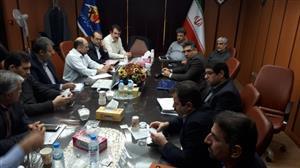 بازدید معاون برنامه ریزی و امور اقتصادی شرکت توانیر از پروژه های برق منطقه ای خوزستان
