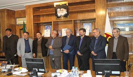 مراسم تودیع و معارفه مدیران سابق و جدید دفتر حراست برق منطقه ای اصفهان برگزار شد
