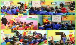 آموزش نوباوگان مهدهای کودک در زمینه مدیریت بهینه مصرف