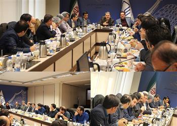 برگزاری نخستین نشست کمیسیون روسای سازمان ها در دوره جدید فعالیت هیئت مدیره استانها