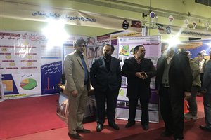 افتتاح نمایشگاه شکوه چهل ساله با حضور استاندار محترم و بازدید استاندار