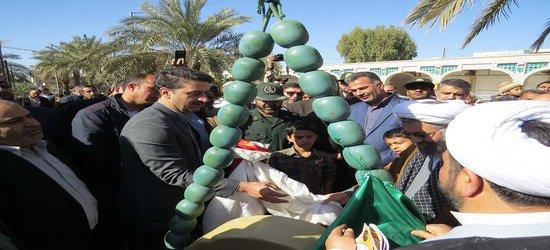رونمایی از المان های فجر فاطمی در سالروز ورود تاریخی امام خمینی(ره) به ایران