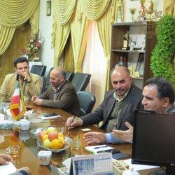 دیدار اعضای محترم شورای اسلامی شهر با جناب آقای دکتر مقصودی