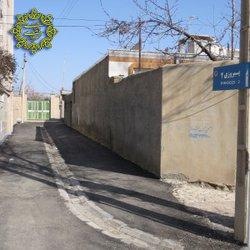 انجام عملیات آسفالت ریزی خیابان پیروزی
