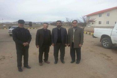 بازدید مهندس حسین بهزادپور از ایستگاه تحقیقات انگور تاکستان