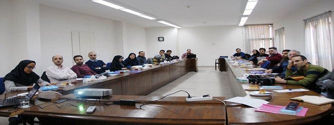 برگزاری جلسه تبیین اهداف  ممیزی داخلی سند مدیریت مخاطرات امن...