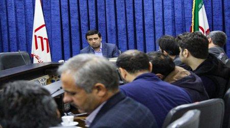 جلسه مدیران دفاتر با رییس سازمان در خصوص عوارض مشاغل مهندسان برگزار شد