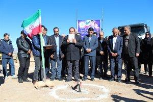 آغاز عملیات اجرایی کنارگذر شهر ایوان استان ایلام به مناسبت دهه مبارک فجر