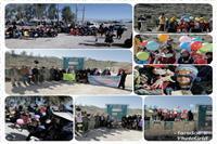 به مناسبت گرامیداشت دوم فوریه:  مراسم روز جهانی تالاب در حاشیه تالاب مهارلو برگزار شد