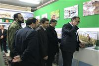 برپایی غرفه حفاظت محیط زیست در نمایشگاه دستاوردهای چهلمین سالگرد پیروزی انقلاب اسلامی همدان