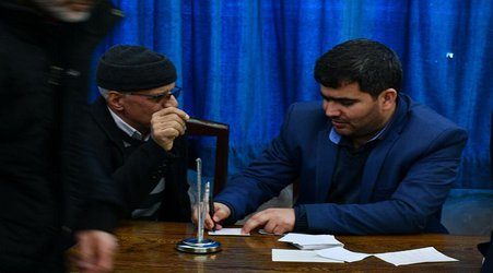 برنامه ملاقات عمومی مردم و مسئولین استانی و شهرستانی، در مسجد جامع میانه