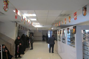 فضاسازی اداره کل سلامت شهرداری تبریز به مناسبت گرامیداشت دهه فجر