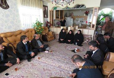 دیدار با خانواده جانبازان به مناسبت دهه مبارک فجر