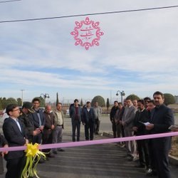 افتتاحیه طرح های عمرانی و زیبا سازی شهری شهرداری جغتای