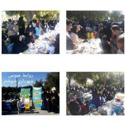 برگزاری جشنواره خیریه غذا در شوشتر