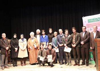 آیین چلچراغ فرهنگ و هنر انقلاب اسلامی قزوین برگزار شد