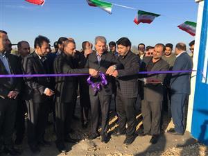 پروژه آبرسانی روستایی«عسگرآباد» بهشهر به بهره برداری رسید