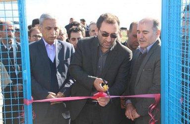 افتتاح طرح آبرسانی به روستای علی آباد شهرستان رودبار