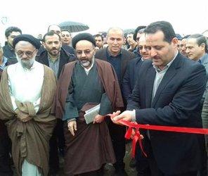 افتتاح و کلنگ زنی ۱۴ طرح آبرسانی آبفار علی آباد در دهه فجر