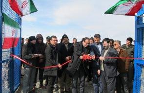 افتتاح پروژه آبرسانی روستایی محمد آباد بلوچ شهرستان چناران
