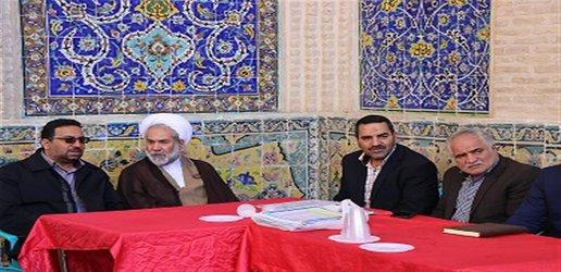 حضور مدیر عامل شرکت آب و فاضلاب شهری استان سمنان در  جلسه میز خدمت