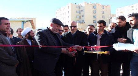 افتتاح پکیج تصفیه فاضلاب دفنی به روشEBBR ،مسکن مهر فریدونشهر