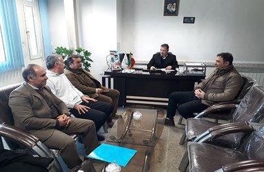 بازدید کارشناسان آب و فاضلاب استان  از تصفیه خانه آب ماکو