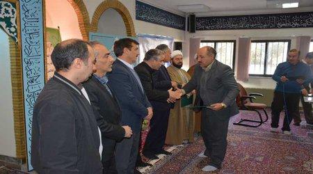 به منظور ترویج و توسعه فرهنگ اقامه نماز: برگزاری مراسم آیین تجلیل و تقدیر از خادمان و فعالان نماز در شرکت برق منطقه ای غرب