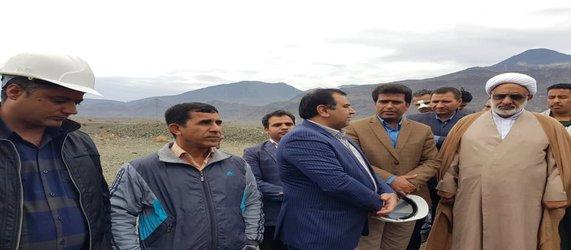 افتتاح پروژه توسعه و رفع افت ولتاژ در شهرستان های کهنوج و فاریاب به مناسبت ایام مبارک دهه فجر
