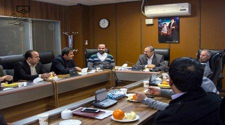 دیدار شهردار و رییس شورای اسلامی شهر نظرآباد با هیات رییسه سازمان