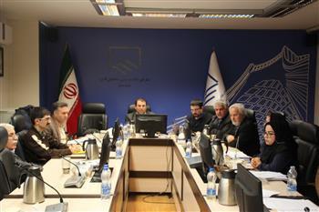تشکیل جلسه مشترک کمیته مالی و مالیاتی شورای مرکزی و نمایندگان کمیسیون روسای سازمان های استان ها