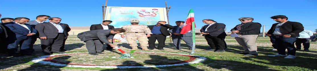 آغاز عملیات اجرایی احداث مصلی شهر دهلران استان ایلام به مناسبت دهه مبارک فجر
