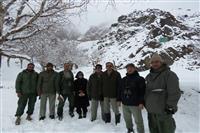 بازدید مدیرکل حفاظت محیط زیست خراسان جنوبی از منطقه پیشنهادی حفاظت شده کمر سرخ سرایان