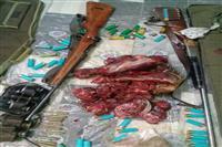 دستگیری شکارچیان غیر مجاز یک راس قوچ وحشی در منطقه حفاظت شده بحر اسمان