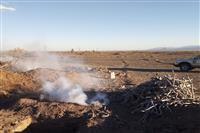 تعطیلی کوره های زغال سوزی غیر مجاز توسط یگان حفاظت محیط زیست شهرستان انار
