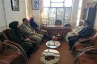 دیدار مدیرکل حفاظت محیط زیست استان کرمان با امام جمعه وبخشدار نگار،شهرستان بردسیر