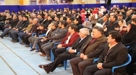 گزارش تصویری از برگزاری جشن باشکوه گوهر تابان بمناسبت چهلمین سالگرد پیروزی انقلاب اسلامی