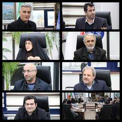 دیدار اعضای شورای شهر انزلی با مدیر کل اداره بنادر و دریانوردی استان گیلان