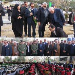 همزمان با هفتمین روز از چهلمین سالگرد پیروزی شکوهمند انقلاب اسلامی مراسمی با عنوان میهمانی لاله ها در گلزار شهدا بروجرد برگزار شد.