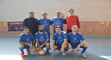 روابط عمومی شهرداری رامسر/ صعود تیم فوتسال شهرداری رامسر به مرحله نیم نهایی مسابقات