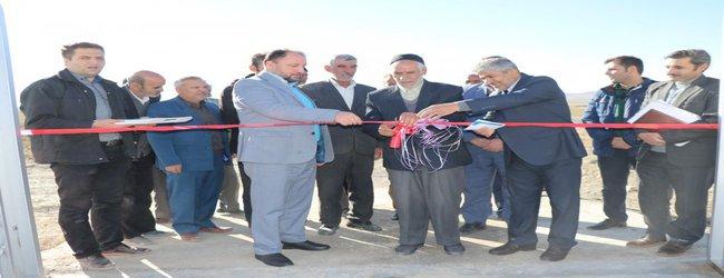 پروژه آبرسانی به روستای دره سبز شهرستان کمیجان به بهره برداری رسید.