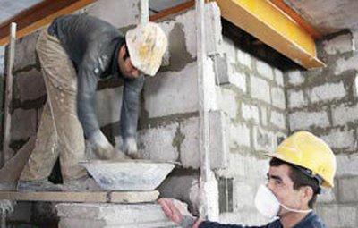 کاهش سن بازنشستگی کارگران ساختمانی