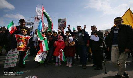 گزارش تصویری:پرتره های انقلابی ۹۷ تبریز