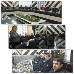 برگزاری دوره آموزشی فرماندهی حریق ویژه آتش نشانان شهرداری خرمشهر
