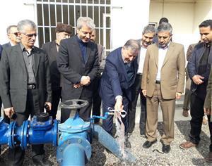 بهره مندی بالغ بر  ۱۶۰۰خانوار روستایی آمل از نعمت آب آشامیدنی سالم